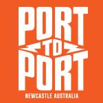 Port to Port MTB Logo