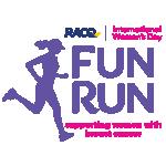 RACQ International Women's Day Fun Run Logo