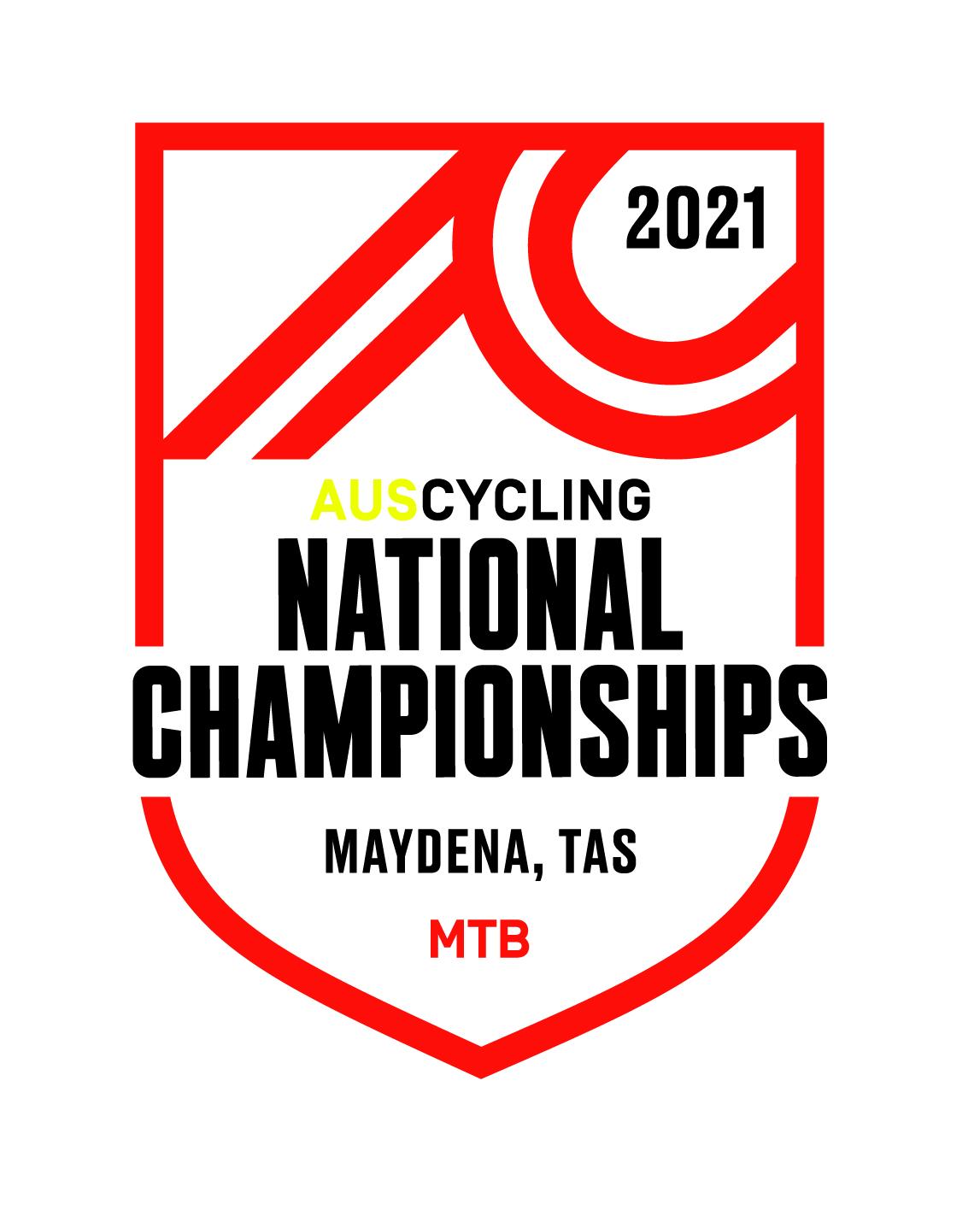 AusCycling Mountain Bike National Championships - XCR Logo