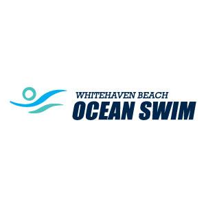 Whitehaven Beach Ocean Swim Logo